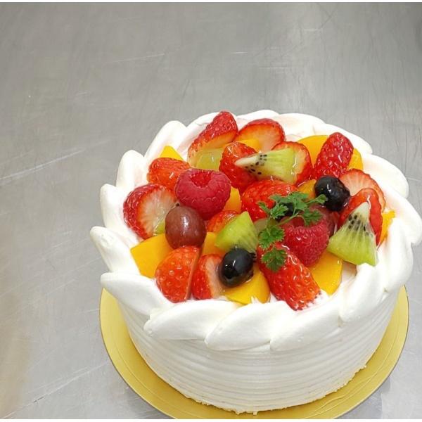 画像1: 彩り果実のデコレーション 直径13.5cm
