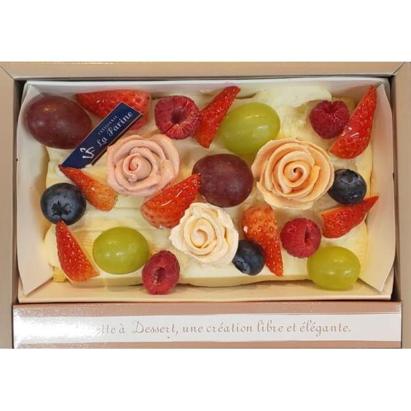 画像1: ブリザーブドフラワーケーキ